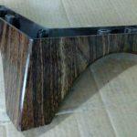 پایه مبل کارن بزرگ طرح چوب