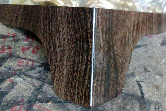 پایه مبل کارن کوچک طرح چوب