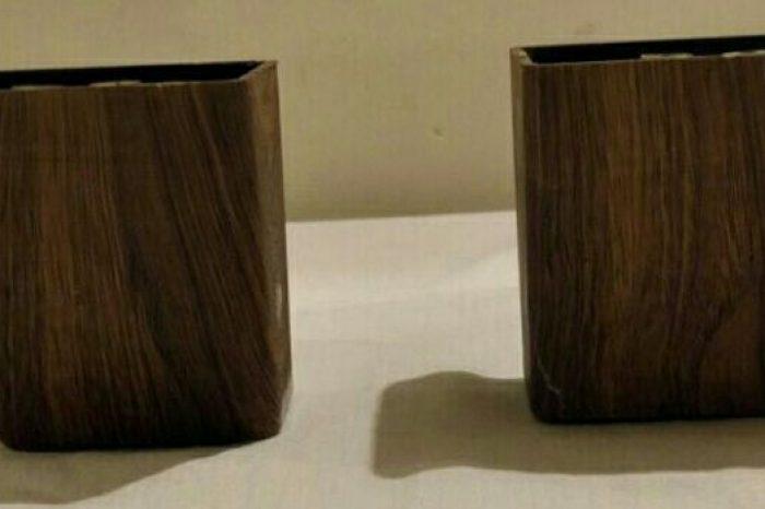 پایه مبل چپ و راست طرح چوب در رنگهای مختلف